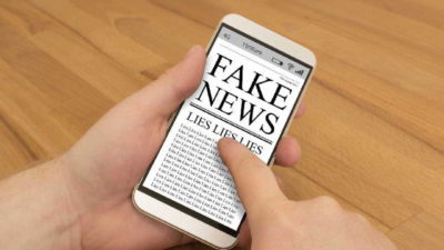Fake news sur Internet
