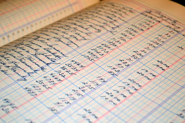 Ecriture du journal comptable