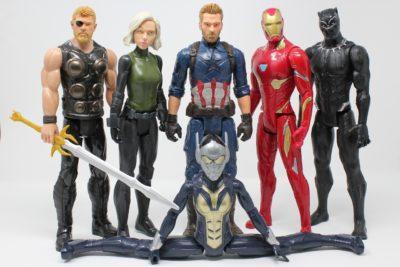 figurines avengers