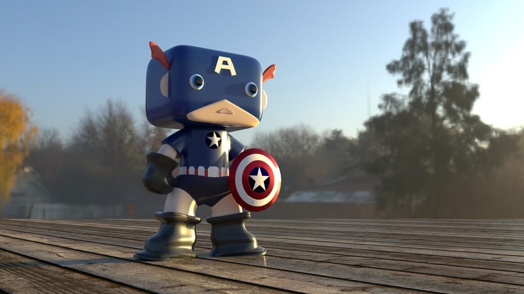 personnage captain america