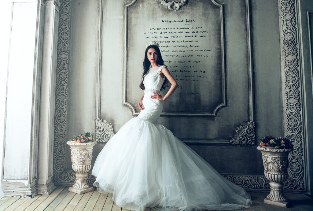 choix d'une robe de mariée