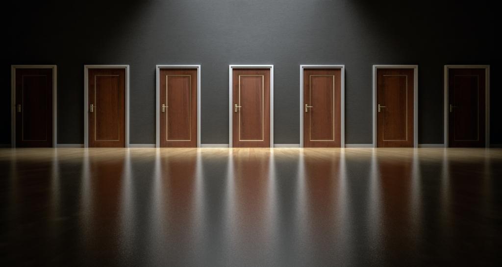 choix multiples portes