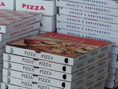 Pizza à livrer