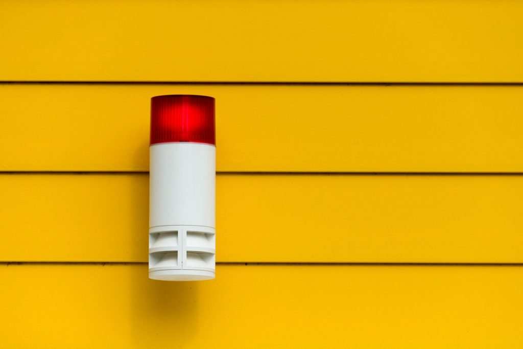 sirène alarme sans fil intérieure et aussi extérieure