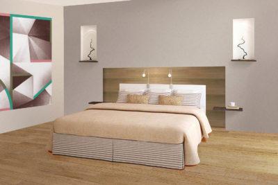 Rénover une chambre, projet de tête de lit