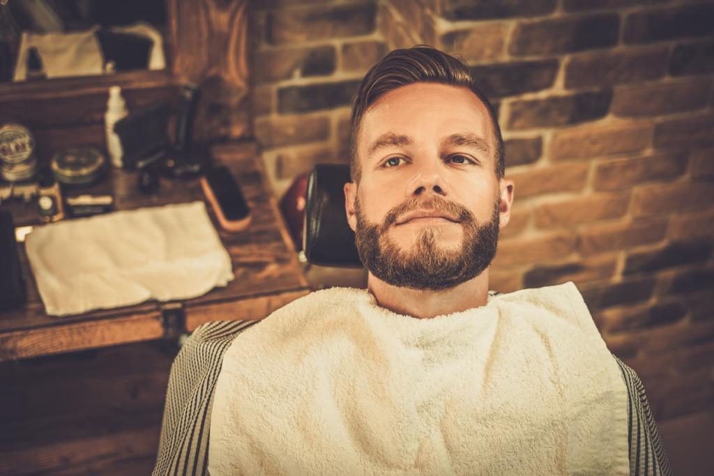 Composition Huile à barbe