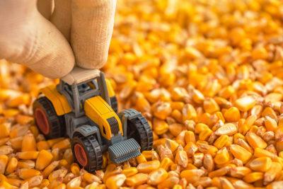 tracteur agricole miniature