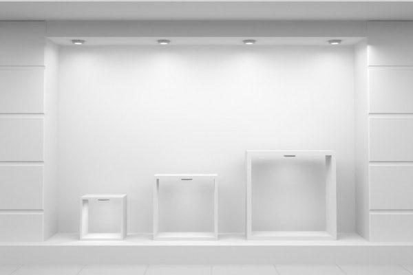 murs de boutique