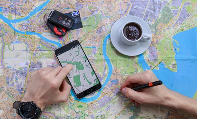 mappy itinéraire