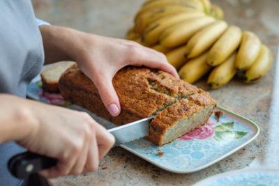 gâteau à la banane