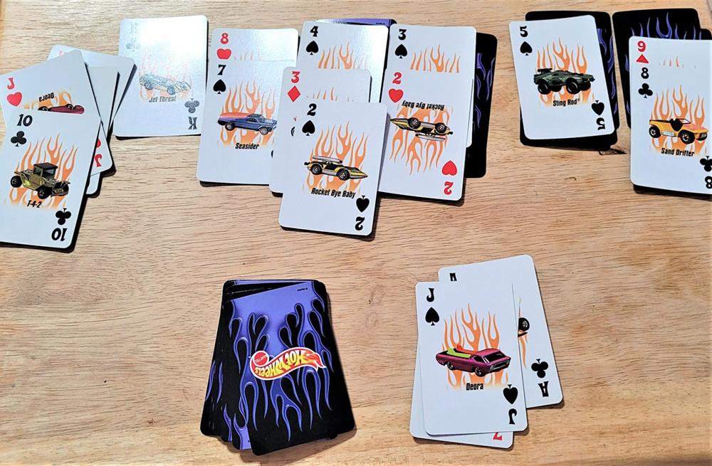 jeu de carte personnalisé