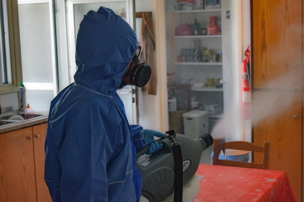 réussir la décontamination d'air