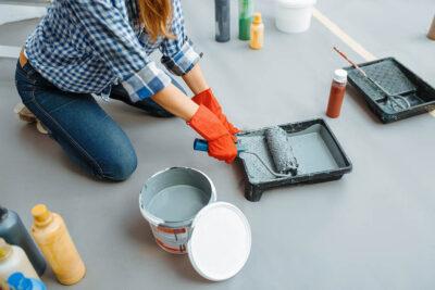peindre sa maison