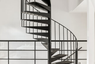 ferronnerie d'art d'escalier